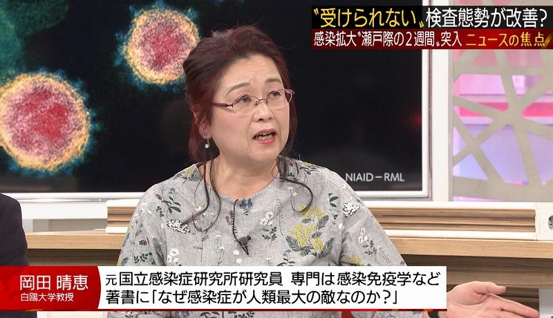 岡田晴恵 経歴